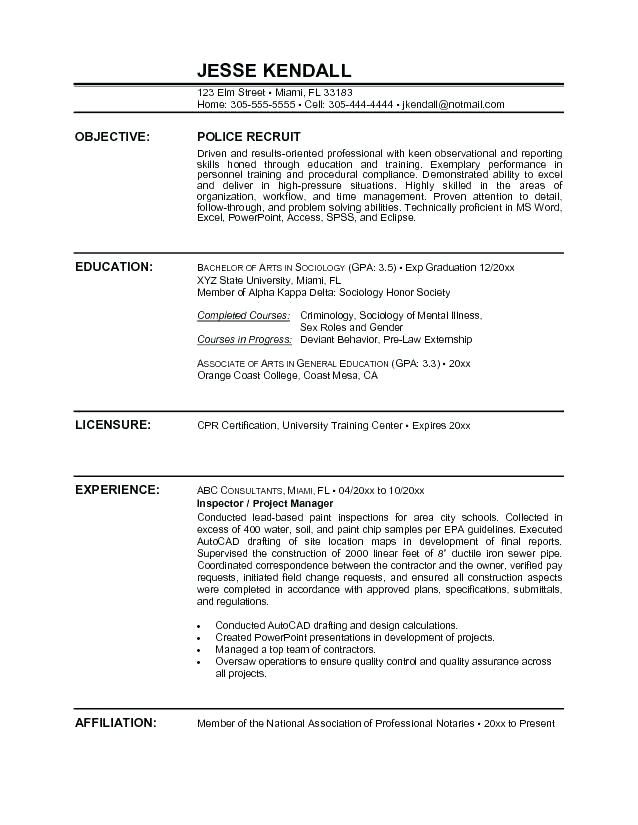 Resumes For Retirees Police Retirees Resumes 2019 Resumes