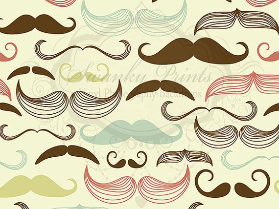 Vintage Mustache - Oz Backdrops and Props