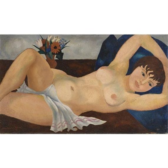 Reclining Nude (1927) by Christopher Wood