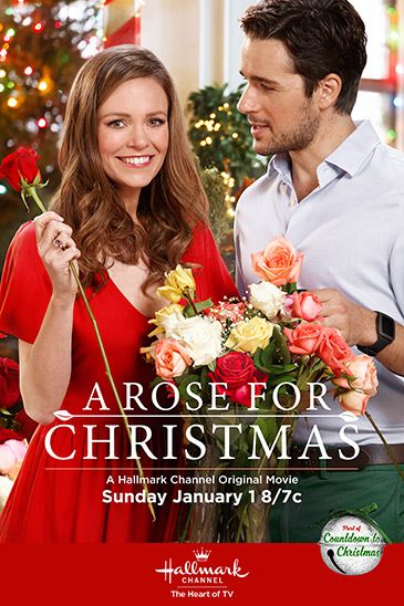 "Its a Wonderful Movie - Your Guide to Family Movies on TV: 'A Rose for Christmas' - a Hallmark Channel Original ""Countdown to Christmas"" Movie starring Rachel Boston & Marc Bendavid!"