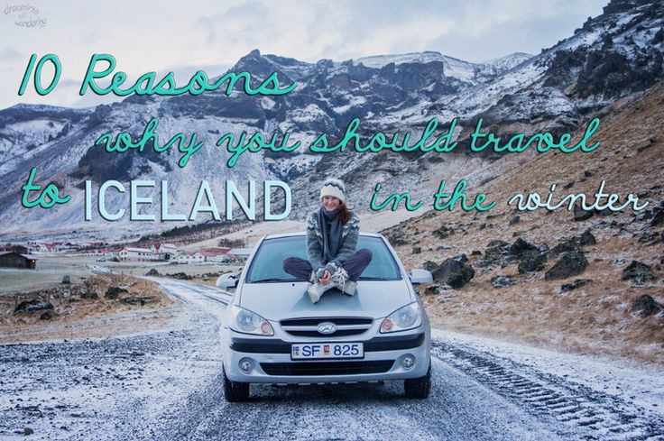 10 reasons why you should travel to Iceland in the winter. You know you'll get cheap flights from Europe and USA with WOW air