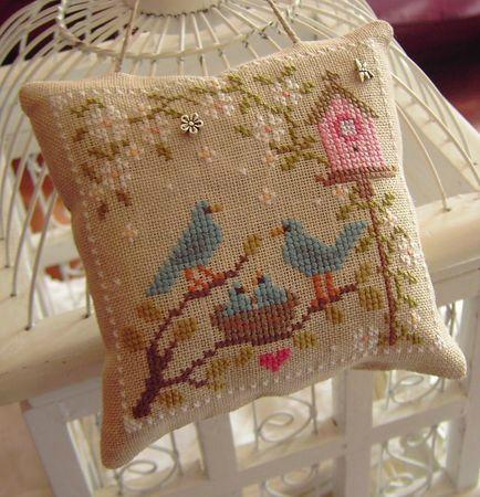 sweet bluebirds - change to robins!
