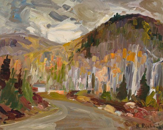 Rene Richard - Landscape 16 x 20 Oil on board
