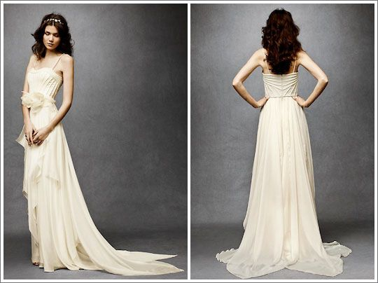 BHLDN \'Cascading Goddess\' Wedding Gown | Gowns and Weddings
