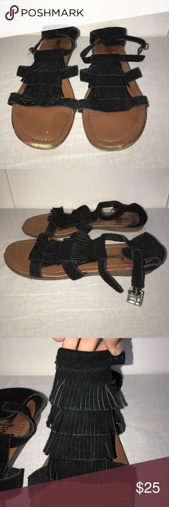 Black Minnetonka Sandals Black Minnetonka Sandals Minnetonka Shoes Sandals