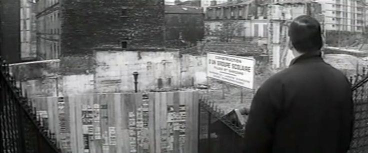 """El mismo rincón de Rififí en la película """"La métamorphose des cloportes"""" Tras cinco años de cárcel lo encuentra así Lino Ventura"""