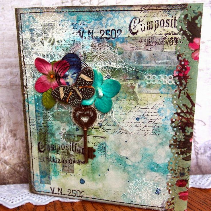 Best Mixed Media Place Cards Images On Pinterest Place Cards - Place card maker