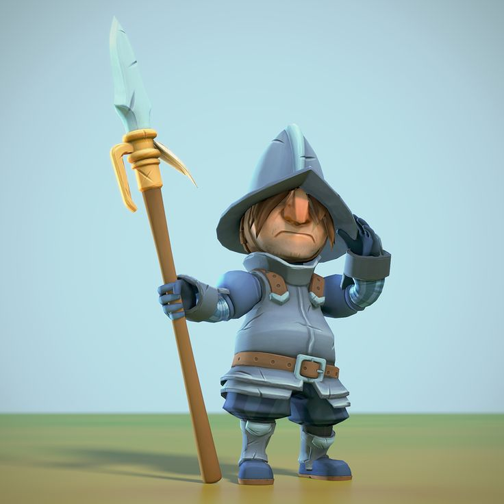 Here comes a big ol' character art dump! - Polycount Forum