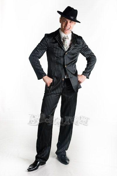 Мужской исторический костюм Buycostumes Gangster 20S Adult Costume