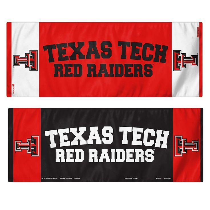 NCAA Wincraft Cooling Towel Texas Tech Red Raiders