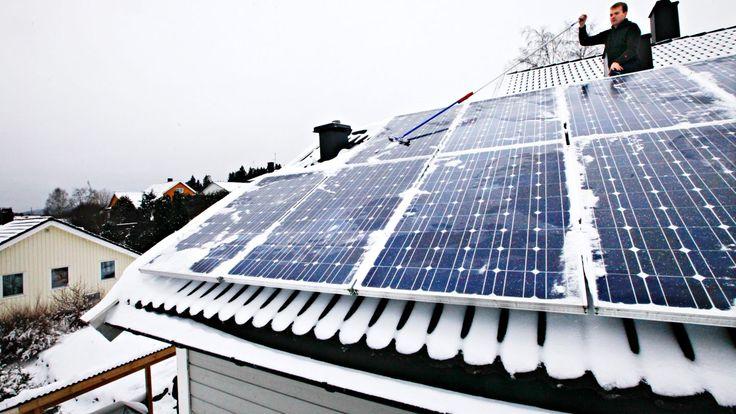 Bilderesultat for private solcelle roof