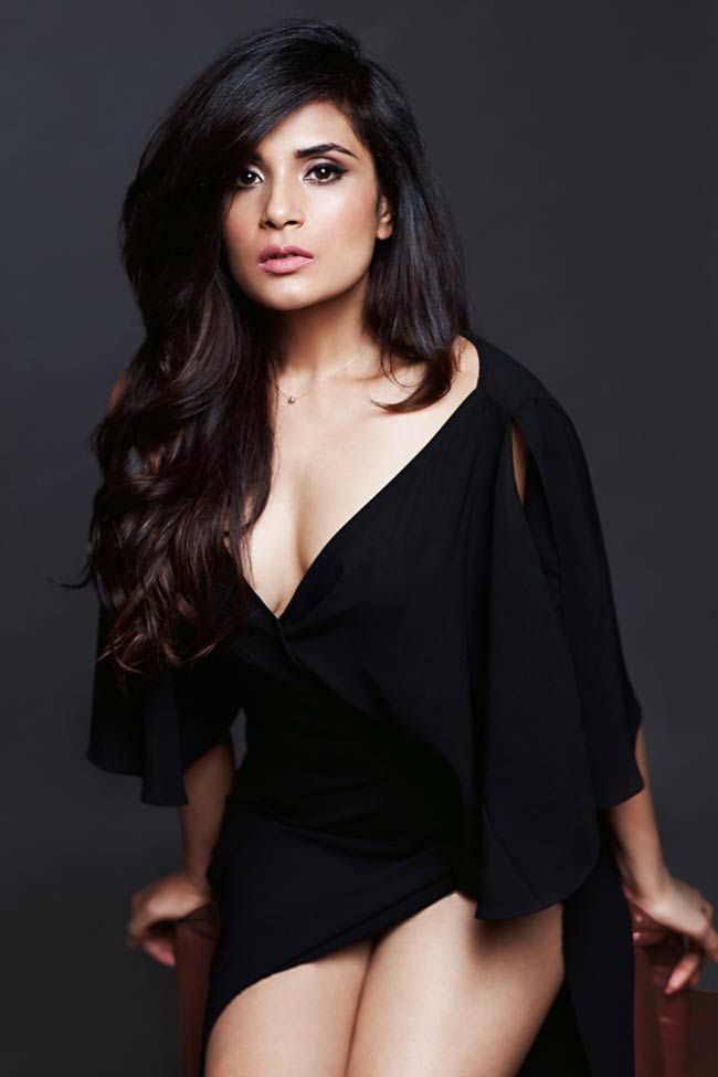 actress Richa Chadda is at Cannes 2015 to present her movie Masaan