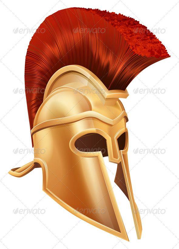 Trojan Helmet - Man-made Objects Objects