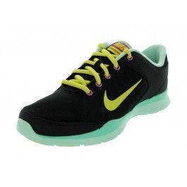 Pantofi sport femei Nike Flex Trainer 3 negri din piele, captuseala din material textil si talpa din cauciuc