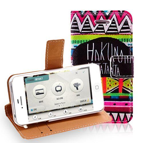 Hakuna Matata iPhone 4 4S Aztec Popular Case #hakunamatata #popular #iphone4 #case #cellz #cover #cellphone #accessories