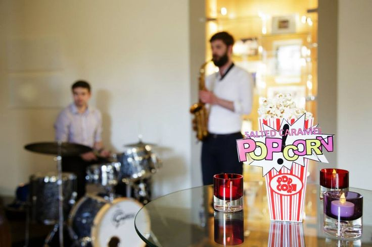 Jazz band entertainment | Summer Party at Café Modern One, Scottish National Gallery of Modern Art One