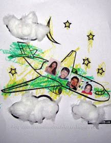 Crafts~N~Things for Children: Easy Airplane Craft for Younger Kids