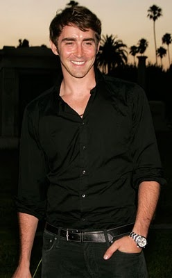 Lee Pace...totally thrilled about seeing him in The Hobbit