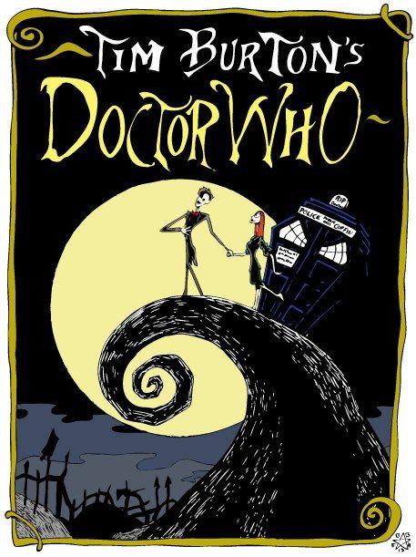 Doctor Who / Nightmare Before Christmas mashup. !!!!!!!!!!!!!!!!!!!
