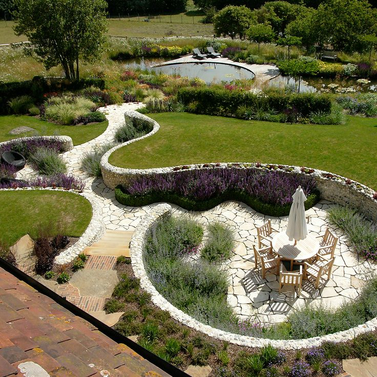 follors manor garden sussex designed by ian kitson landscape architect lan united kingdom