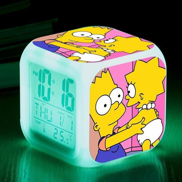 Roblox Clock Decal Roblox Games Led Night Light Digital Alarm Clock Christmas Gift