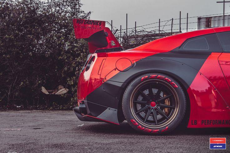 Nissan GT-R - Vossen x Work VWS-1 - Gloss Bronze Andoized Barrel - Matte Black Center - © Vossen Wheels 2017 - 1041