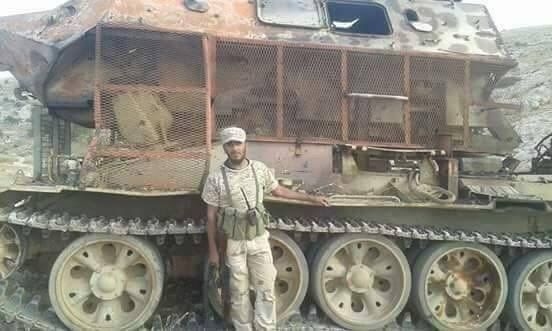 Hybrid Of T-55 And BTR-60 Spotted In Libya
