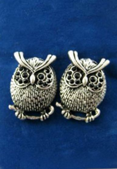 Classic Lovely Alloy Owl Earrings pictures