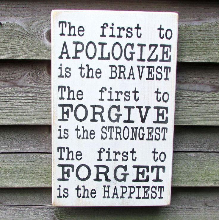 country home decor, inspirational sign, first to apoligize is the bravest, family rules, primitive country decor, rustic decor, hand painted