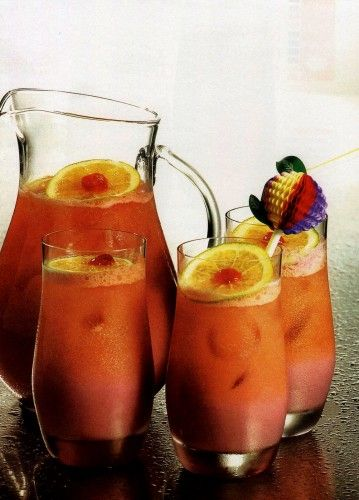 Honey Girl Cocktail - Great for summer! For more party ideas, visit http://www.discountpartysupplies.com/blog/