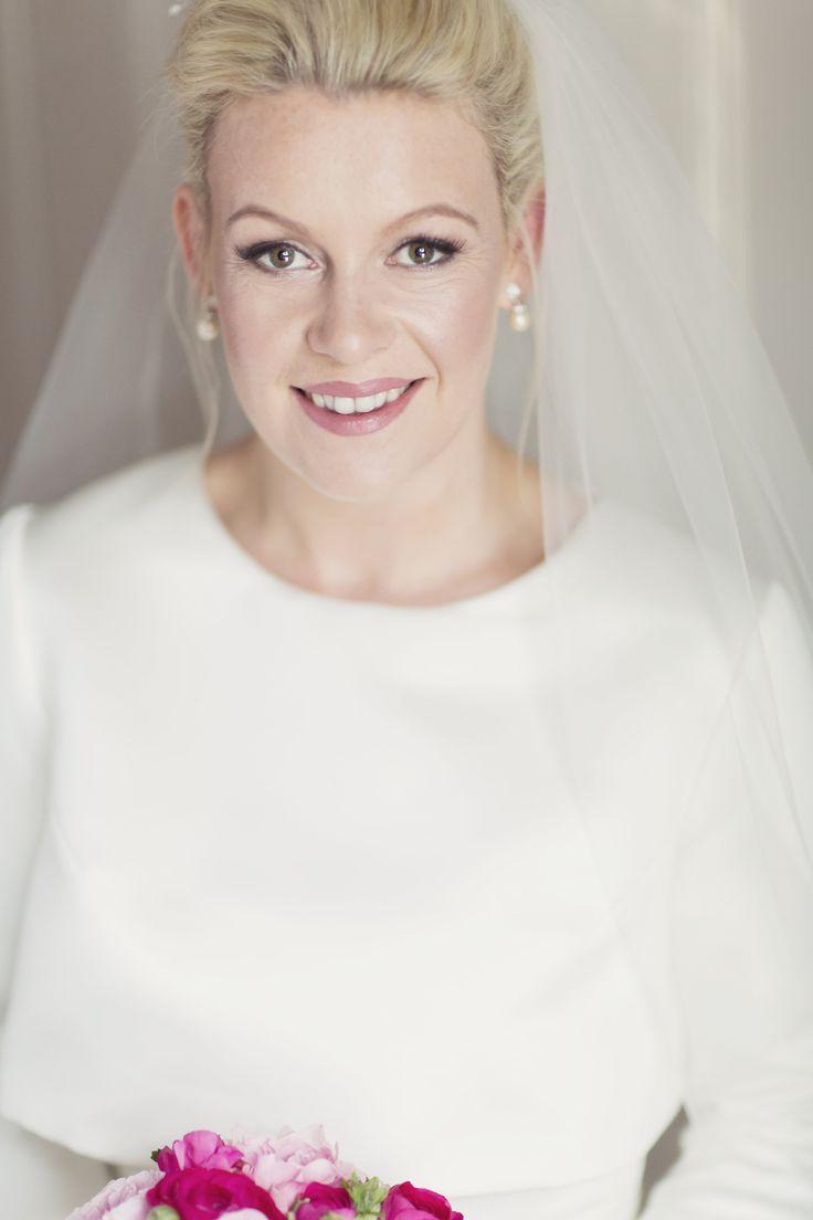Bride - Hair & Make Up - Anne Marie Mcelroy / Dress - Ritva Westenius London