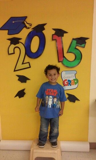 Preschool graduation backdrop