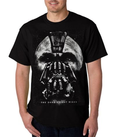 New Rare Bane superhero Batman DC comics Men Black T-Shirt - T-Shirts, Tank Tops