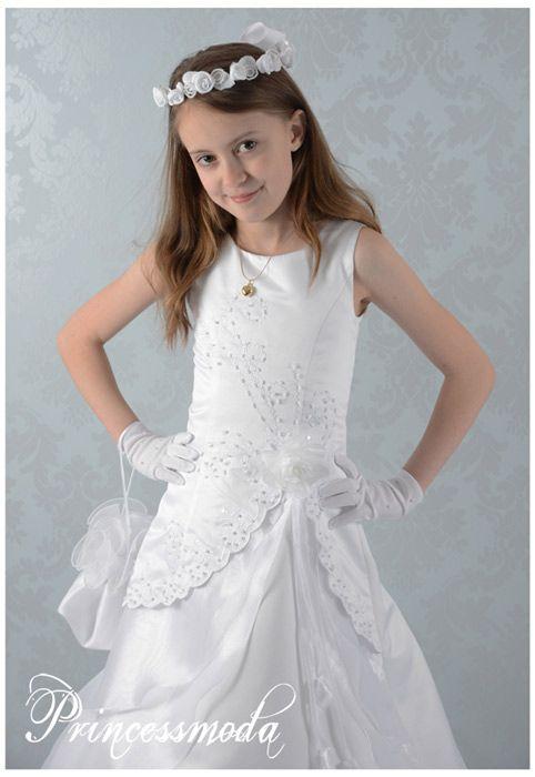 LIA - Das Prinzessinnenkleid - Kommunionkleid mit Jacke ...