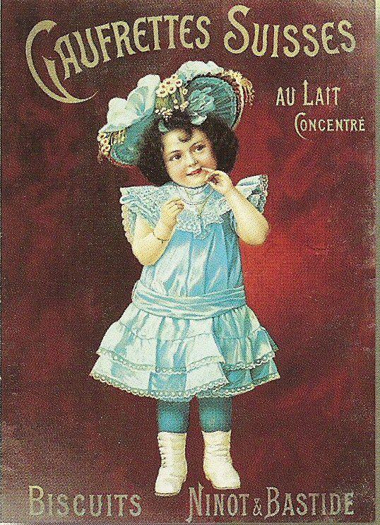 Vintage biscuits advertisement