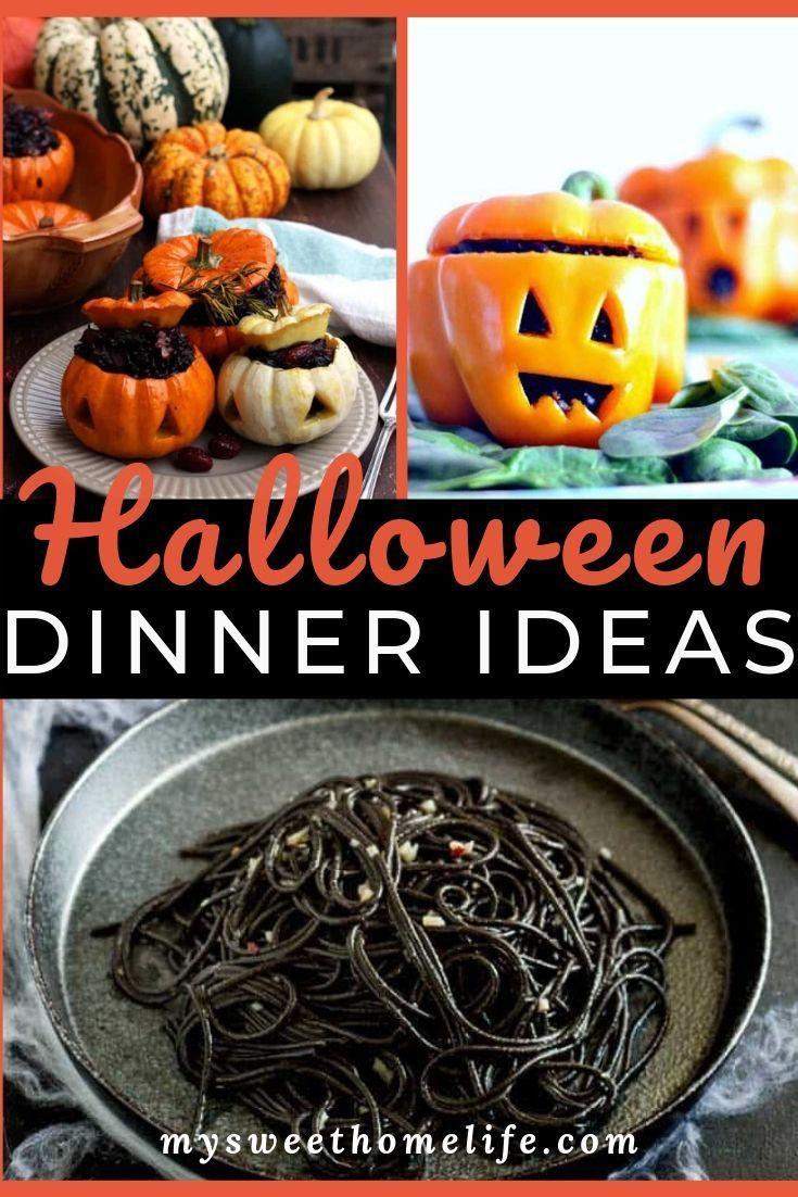 Halloween dinner ideas for adults Halloween dinner