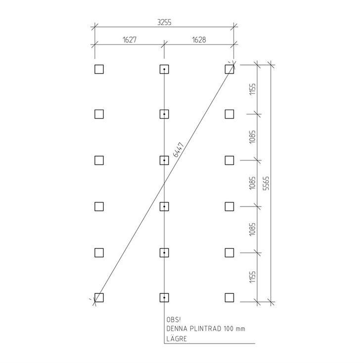 Stuga Jabo Flex Funkis Paket 18,4 m² Modell 2 - Attefallshus - Stugor