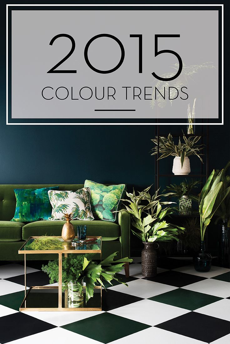 2015 Colour trends from the Haymes Forecast.