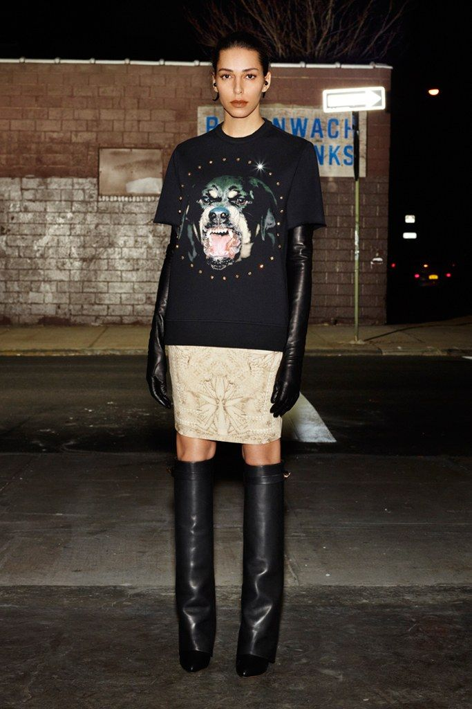 Givenchy Pre-Fall 2012 collection by Riccardo Tisci