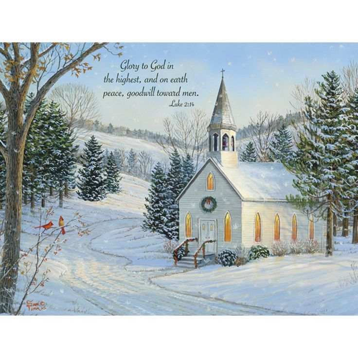 18ct Country Cheer Holiday Boxed Cards