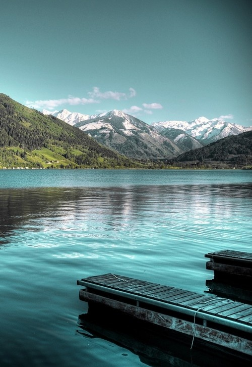 To go back to Zell am See, Austria