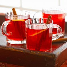 Light Cranberry Toddy