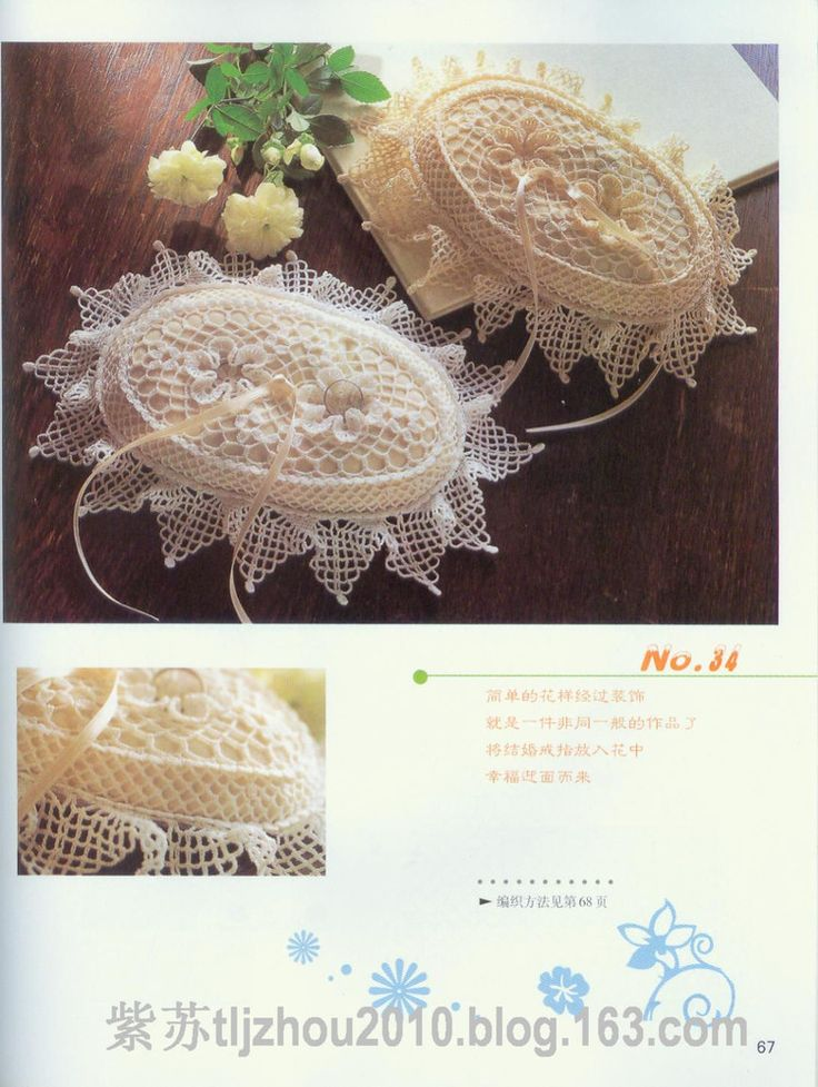 doily pattern for soap holding, crochet patterns