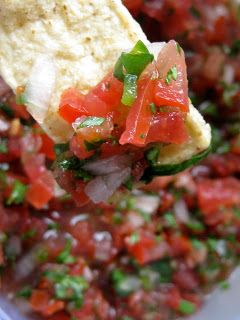 hoffee and a nuffin: Fresh Salsa