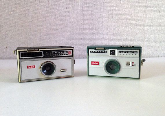 Vintage Kodak Instamatic camera 104  Kodak by EphemereIntemporel