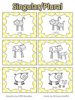 Primary Graffiti: HM Focus Wall: Theme 2, Review AND Free Center Cards!: Teaching Class Ideas Lessons, Reading, Literacy Language Arts, Nouns Verbs Plural, Nouns Verbs Adjectives, Focus Wall, Literacy Ideas, Nouns Idea, Grammar