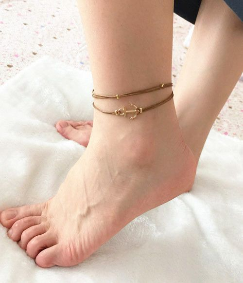 Найти ещё Ножные браслеты Сведения о Новинка ног ювелирные изделия веревка звено цепи якорные ножные браслеты приятный подарок для женщин гриль оптовая продажа AN37, высокого качества Ножные браслеты из just do my best на Aliexpress.com