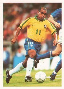 1998 Brooke Bond PG Tips International Soccer Stars #2 Romario Front