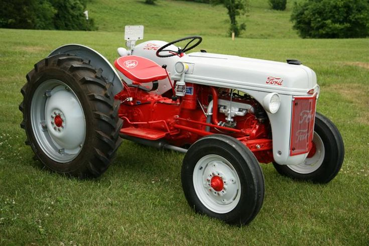 8n Ford Art : N ford tractor restoration page outdoors