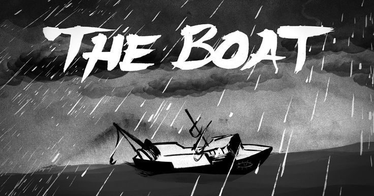 'The Boat', STORYTELLING - an interactive graphic novel about escape after the Vietnam War. Based on the story by Nam Le, adapted by Matt Huynh.​